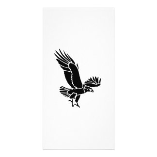 Flying Hawk Picture Card