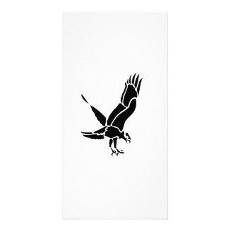 Flying Hawk Photo Card