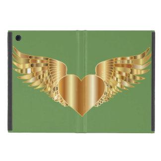 Flying Heart iPad Mini Case with No Kickstand