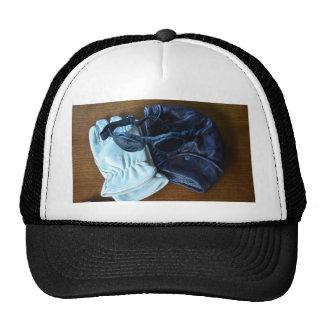 Flying Helmet, Goggles and Gloves Trucker Hat