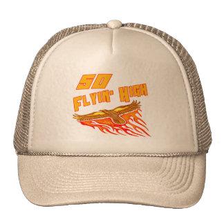 Flying High 50th Birthday Gifts Cap