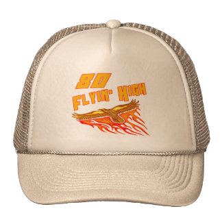 Flying High 80th Birthday Gifts Cap
