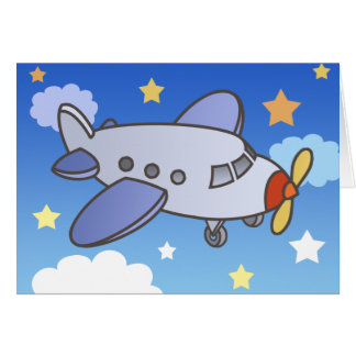 Flying High Airplane Greeting Cards