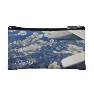 flying high cosmetic bag