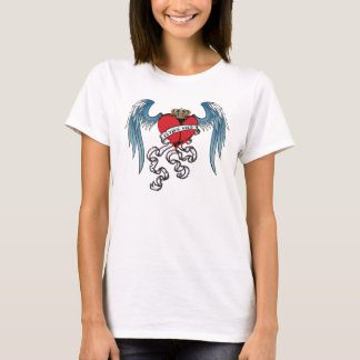 Flying High Heart Tattoo Shirt