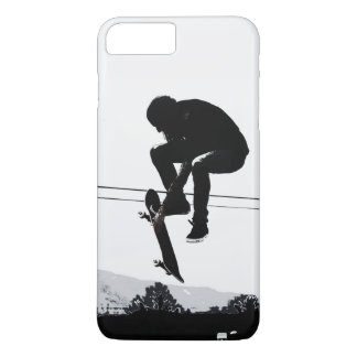 Flying High Skateboarder iPhone 8 Plus/7 Plus Case