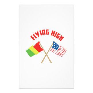 Flying High Stationery Design