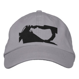 Flying High Stunt Dirt Bike Embroidered Hat