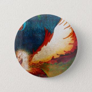 Flying Horse 2 6 Cm Round Badge