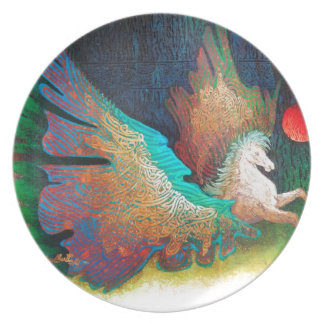 Flying Horse Plate