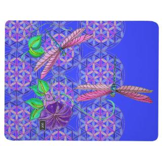 FLYING JOURNAL~ Dragonfly Journey Flower of Life Journals