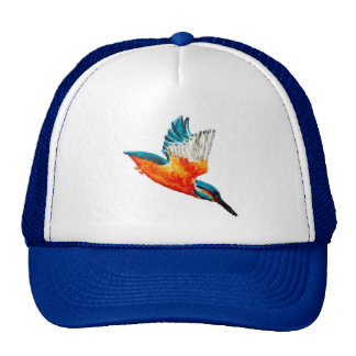 Flying Kingfisher Cap