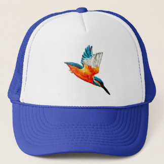 Flying Kingfisher Trucker Hat