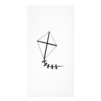 Flying Kite Personalized Photo Card