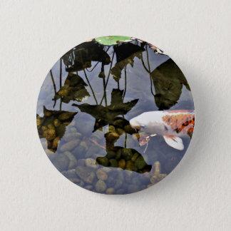 Flying Koi 6 Cm Round Badge