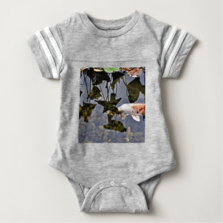 Flying Koi Baby Bodysuit