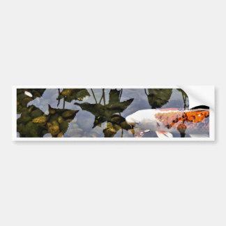 Flying Koi Bumper Sticker