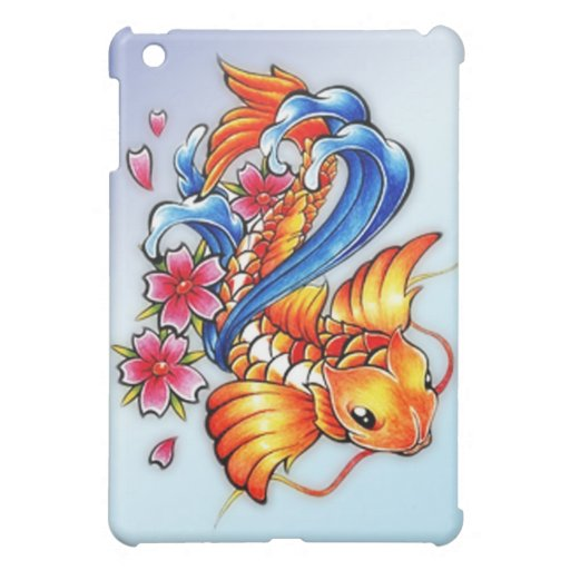 Flying Koi Fish iPad Case