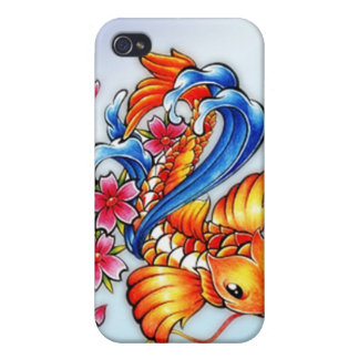 Flying Koi Fish iPhone 4 Case