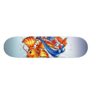 Flying Koi Fish Skateboard Pro