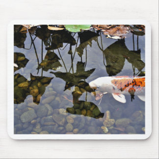 Flying Koi Mouse Pad