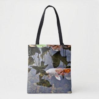 Flying Koi Tote Bag