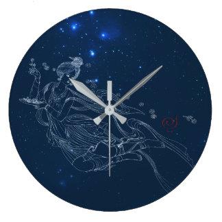 Flying Lady Clock