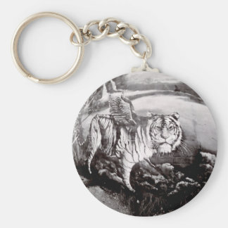 Flying Liger Key Ring
