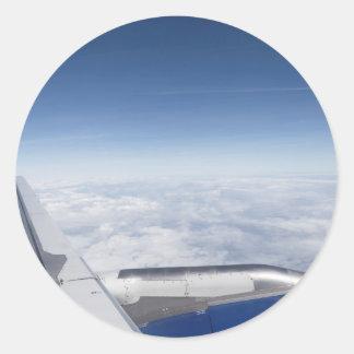 Flying Like A Bird Classic Round Sticker