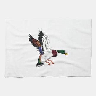 FLYING MALLARD DUCK TEA TOWEL