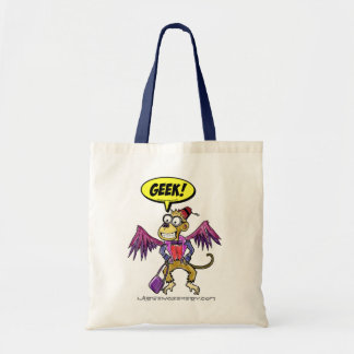 Flying Monkey Geek Tote Bag