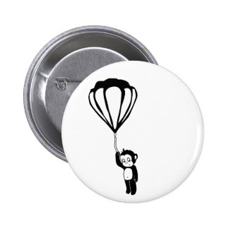 flying monkey hot air balloon pin