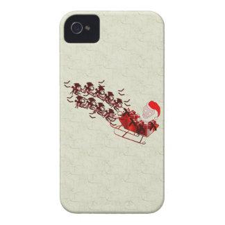 Flying Monkey Santa Case-Mate iPhone 4 Cases