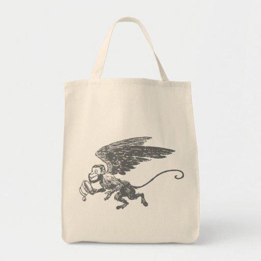 Flying Monkeys Fairy Tale Fantasy Creature Bag