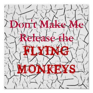 Flying Monkeys Poster