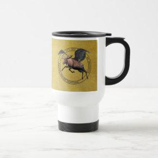 Flying Moose Aviation Stainless Steel Travel Mug