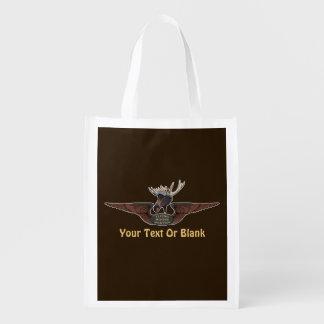 Flying Moose Bush Pilot Wings