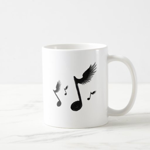 Flying Notes Mugs