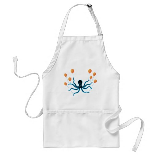 Flying Octopus Apron