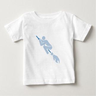 flying on the magic broom baby T-Shirt