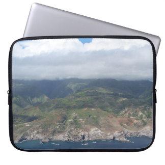 Flying over Hawaii Laptop Sleeve