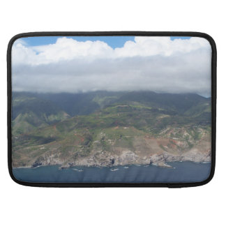 Flying over Hawaii Macbook Sleeve