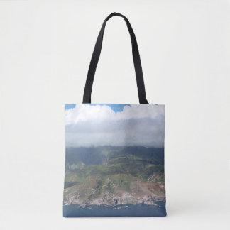 Flying over Hawaii Tote Bag