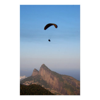 Flying over Rio Poster