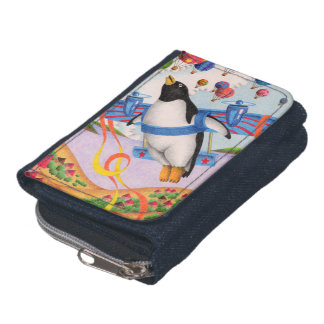 Flying penguin wallets