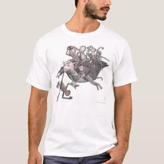 Flying Pig Carrying Monkeys! T-Shirt