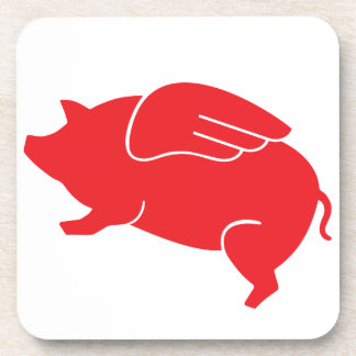 flying pig  🐷 coasters