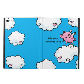Flying Pig Dances on Clouds Customisable