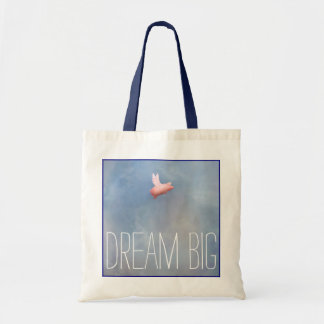 Flying Pig-Dream Big Tote Bag