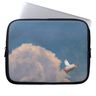 flying pig laptop sleeve